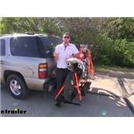 Video review etrailer motorcycle carrier e98873