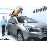 etrailer Watersport Carriers Review - 2015 Subaru Outback Wagon