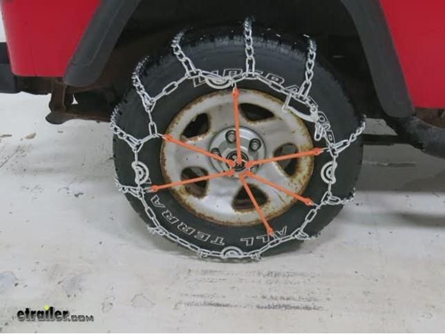 Chevrolet silverado glacier twist link snow tire
