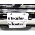 Draw-Tite Front Mount Trailer Hitch License Plate Relocation Bracket Review