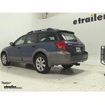Rola Dart Folding Hitch Cargo Carrier Review - 2006 Subaru Outback Wagon