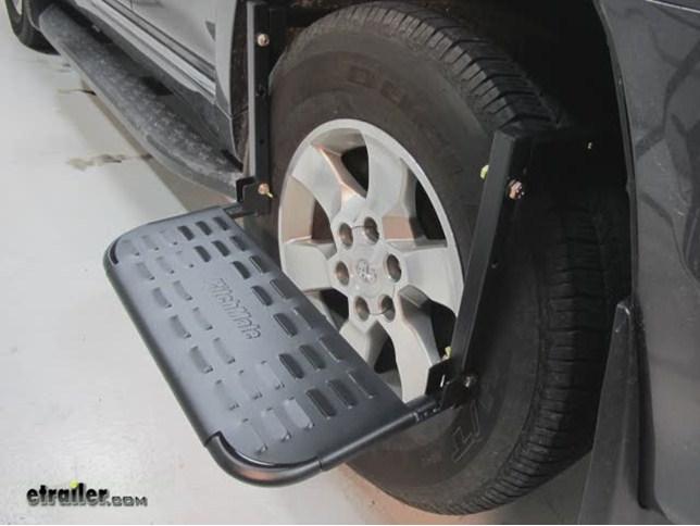 Hitchmate Tirestep Adjustable Step For Suvs Rvs And Light