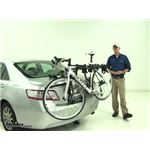 Hollywood Racks Baja Trunk Bike Racks Review - 2011 Toyota Camry