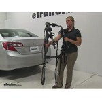 Hollywood Racks Baja Trunk Bike Racks Review - 2014 Toyota Camry