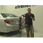 Hollywood Racks Express Trunk Bike Racks Review - 2014 Toyota Camry