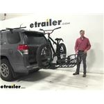 Hollywood Racks Hitch Bike Racks Review - 2012 Toyota 4Runner