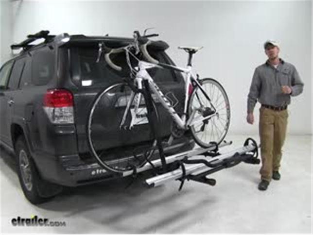 Hollywood Racks Hitch Bike Racks Review   2012 Toyota 4Runner Video    Etrailer.com