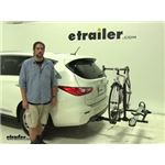 Hollywood Racks  Hitch Bike Racks Review - 2014 Infiniti QX60