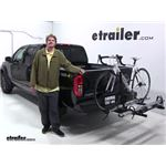 Hollywood Racks  Hitch Bike Racks Review - 2018 Nissan Frontier