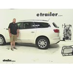 Hollywood Racks  Hitch Cargo Carrier Review - 2015 Buick Enclave