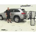 Hollywood Racks  Hitch Cargo Carrier Review - 2015 Jeep Grand Cherokee