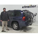 Hollywood Racks Over-the-Top Trunk Bike Racks Review - 2002 GMC Envoy