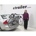 Hollywood Racks Over-the-Top Trunk Bike Racks Review - 2009 Kia Spectra