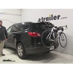 Video review hollywood racks over the top trunk bike racks 2012 chevrolet traverse hrf2