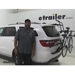 Hollywood Racks Over the Top Trunk Bike Racks Review - 2015 Dodge Durango