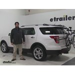 Hollywood Racks Over-the-Top Trunk Bike Racks Review - 2015 Ford Explorer