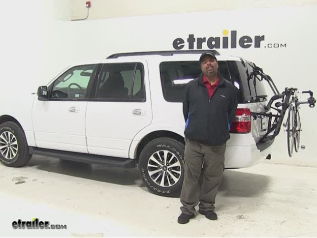 Hollywood Racks Over The Top Trunk Bike Racks Review  Ford Expedition Video Etrailer Com