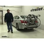 Hollywood Racks Over-the-Top Trunk Bike Racks Review - 2017 Nissan Altima