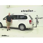 Hollywood Racks Traveler Hitch Bike Racks Review - 2012 Kia Sedona