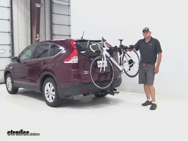 Lovely Hollywood Racks Traveler Tow N Go Hitch Bike Racks Review   2013 Honda CR V  Video | Etrailer.com