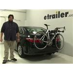 Hollywood Racks  Trunk Bike Racks Review - 2016 Toyota Camry