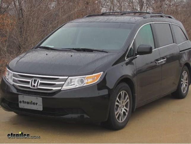 2012 Honda Odyssey Husky Liners Weatherbeater Custom Cargo