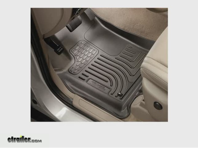 2011 Dodge Grand Caravan Floor Mats Husky Liners