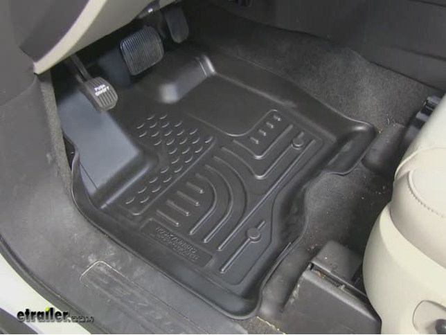 2012 Ford Explorer Husky Liners Weatherbeater Custom Auto