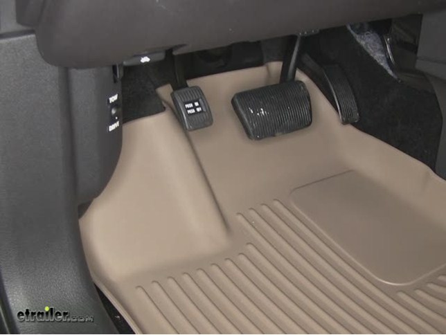 Husky Liners Weatherbeater Custom Front And Rear Floor Liners Review  Ford Edge Video Etrailer Com