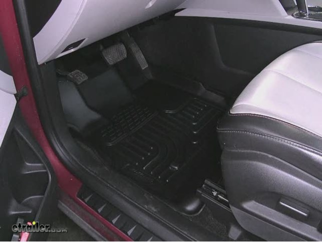 2013 gmc terrain husky liners weatherbeater custom auto floor liners front and rear gray. Black Bedroom Furniture Sets. Home Design Ideas