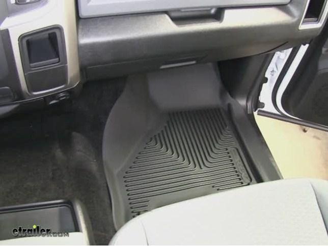 husky liners x act contour front floor liners ram video etrailer com