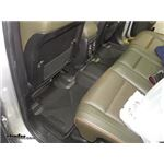 Husky Liners X-act Contour 2nd Row Rear Floor Liner Review - 2011 Jeep Grand Cherokee - Video