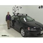 Inno  Roof Bike Racks Review - 2013 Volkswagen Jetta