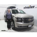 Inno  Roof Cargo Carrier Review - 2016 Chevrolet Tahoe