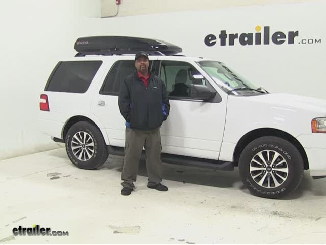 High Quality Inno Roof Cargo Carrier Review   2016 Ford Expedition Video | Etrailer.com