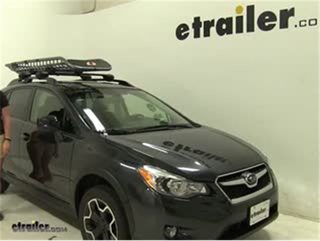 Kuat Roof Cargo Carrier Review 2017 Subaru Xv Crosstrek Video Etrailer