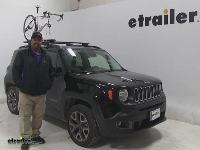 Bike Rack For Jeep Renegade >> Kuat Trio Roof Bike Racks Review 2015 Jeep Renegade Video