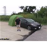 Video review lets go aero archaus tent shelter sar024