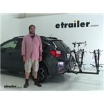 Lets Go Aero  Hitch Bike Racks Review - 2014 Subaru XV Crosstrek