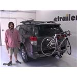Malone  Hitch Bike Racks Review - 2012 Toyota 4Runner