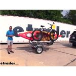 Malone MicroSport Trailer with Bike and J-Pro Carrier  Review