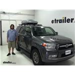 Malone  Roof Box Review - 2012 Toyota 4Runner