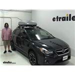 Malone  Roof Box Review - 2014 Subaru XV Crosstrek
