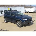 Malone SteelTop Square Crossbars Roof Rack Installation - 2018 Jeep Cherokee
