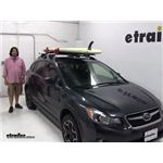 Malone  Watersport Carriers Review - 2014 Subaru XV Crosstrek