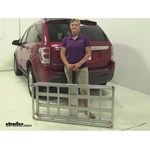 MaxxTow  Hitch Cargo Carrier Review - 2005 Chevrolet Equinox