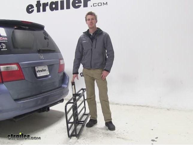 MaxxTow Hitch Cargo Carrier Review   2005 Honda Odyssey Video | Etrailer.com