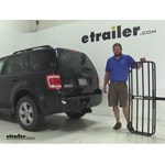 MaxxTow  Hitch Cargo Carrier Review - 2008 Ford Escape