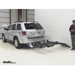 MaxxTow  Hitch Cargo Carrier Review - 2010 Jeep Grand Cherokee