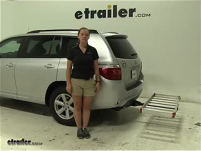 Matow Hitch Cargo Carrier Review 2010 Toyota Highlander Video Etrailer